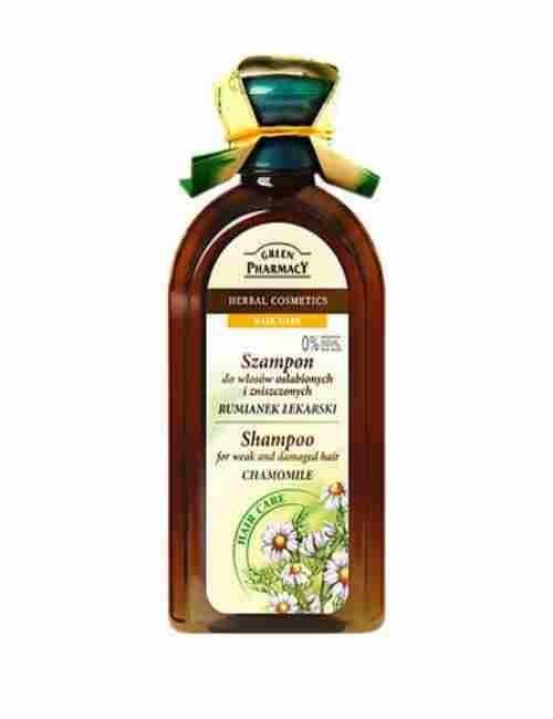 Champu Natural para cabellos Débiles y Dañados de Camomila