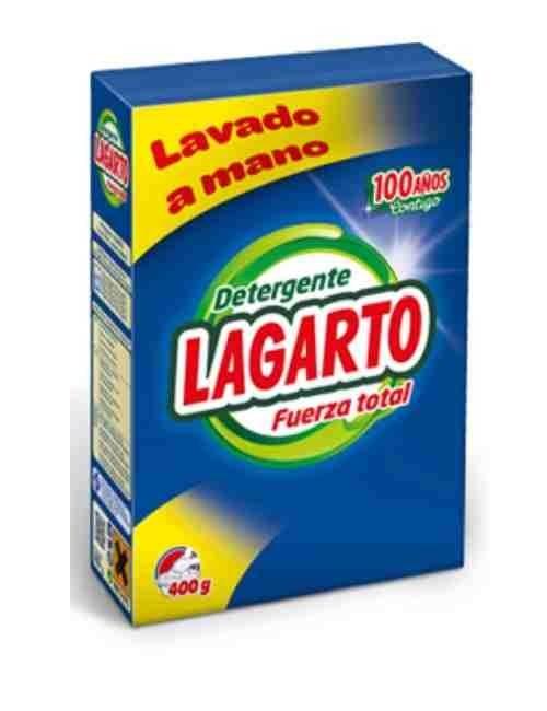 Detergente A Mano marca Lagarto para la ropa
