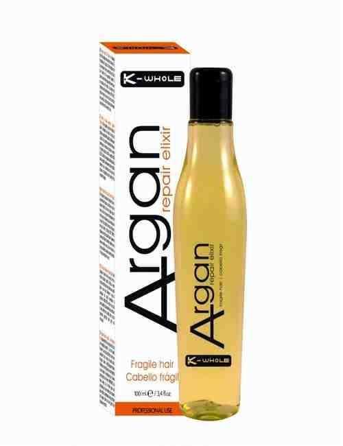 Aceite Capilar de Argan para cabellos Finos