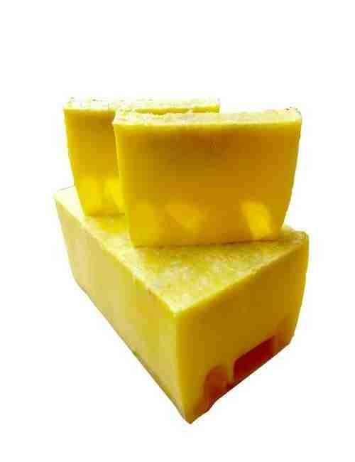 Jabón para todo el cuerpo y cara de glicerina con Calendula