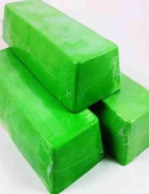Jabón para todo el cuerpo y cara de glicerina con Manzana Verde
