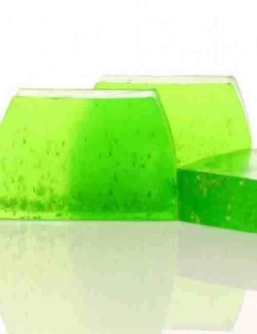 Jabón para todo el cuerpo y cara de glicerina con Papaya