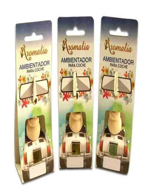 Ambientador para el Coche aroma Bulgary en formato mikado