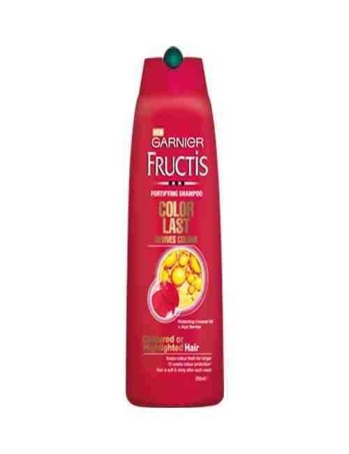 Champú para Cabellos teñidos marca Frutis