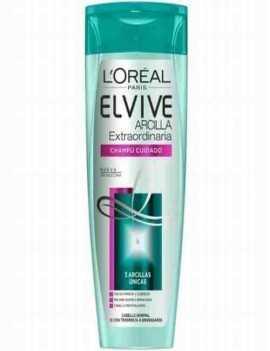 Champú de Arcilla para cabellos Grasos marca Elvive de Loreal 250 ml