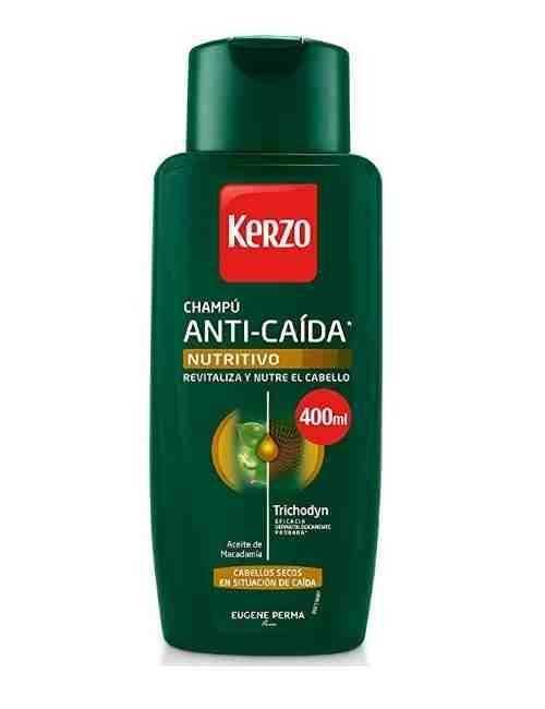 Champú Anti Caída para Nutrir el cabello marca Kerzo