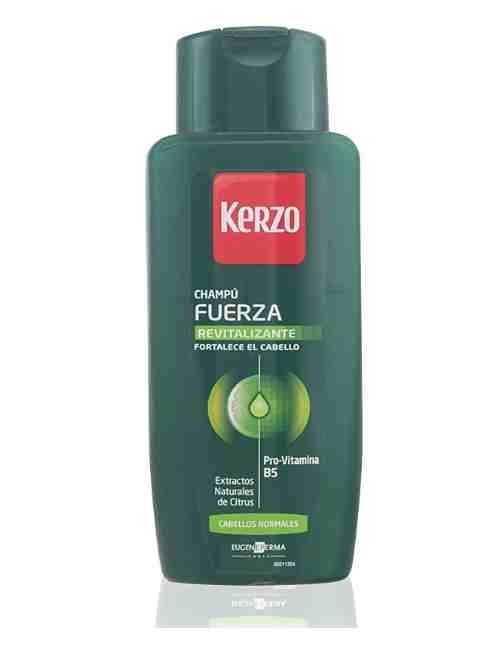 Champú para dar Fuerza y Revitalizar tu cabello marca Kerzo
