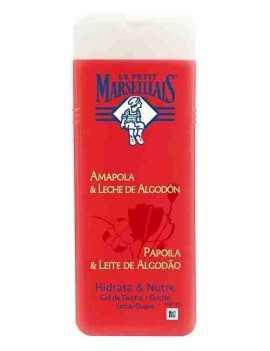 Gel de Ducha con aroma a Amapola y Leche Algodon marca Marseillais