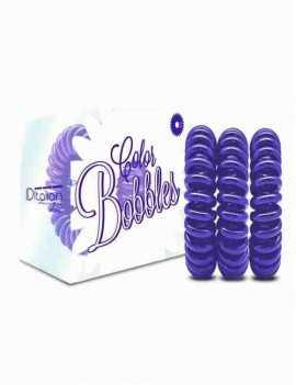Gomas de pelo Pack de 3 Unidades anti nudos color lila