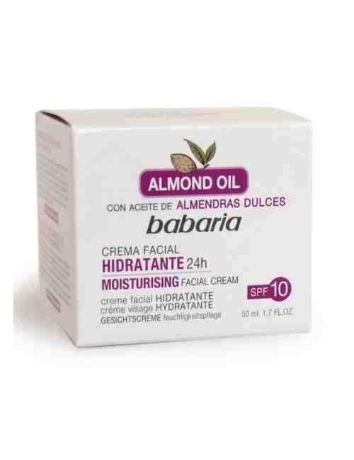 Crema de Cara para hidratar tu piel de día marca Babaria
