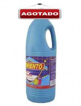 Lejía con Detergente marca Sarmiento limpia tu hogar en profundidad