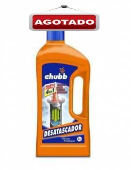 Desatascador de tuberías marca Chubb gran eficacia