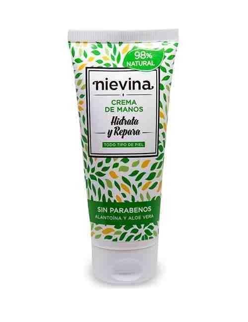 Crema de Manos hidrata y cuida tus manos marca Nievina
