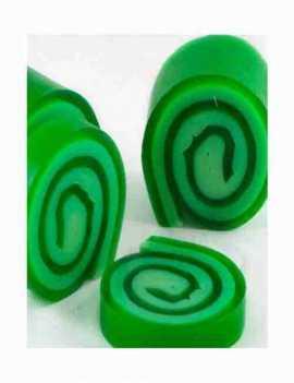 Jabón de Glicerina aroma Lemongrass en un formato muy simpático enrollado
