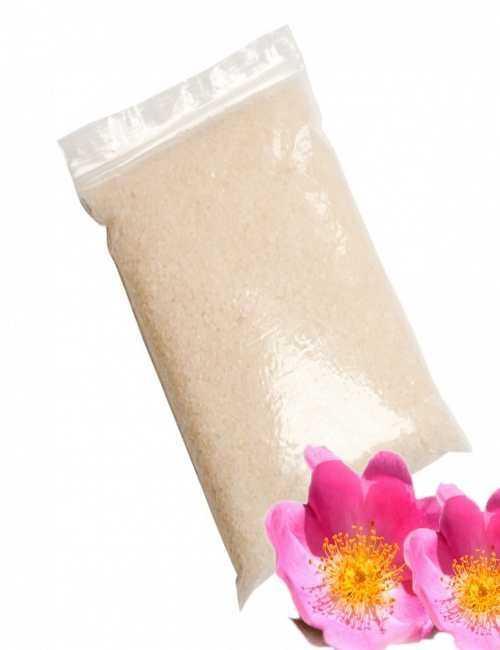Sales de Baño con Rosa Mosqueta date un baño relajante ademas de cuidar tu piel