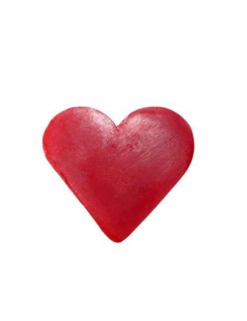 Jabón en forma de corazón aroma Frambuesa