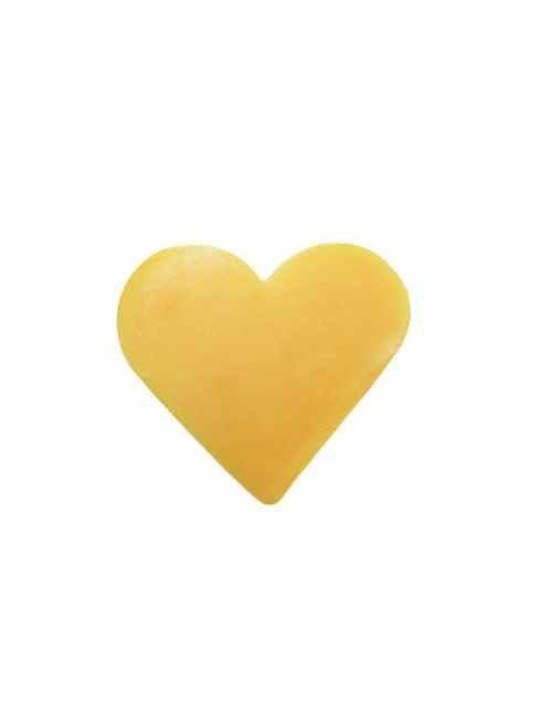 Jabón en forma de corazón aroma Pomelo
