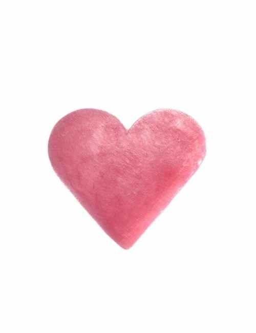 Jabón en forma de corazón aroma Rosa