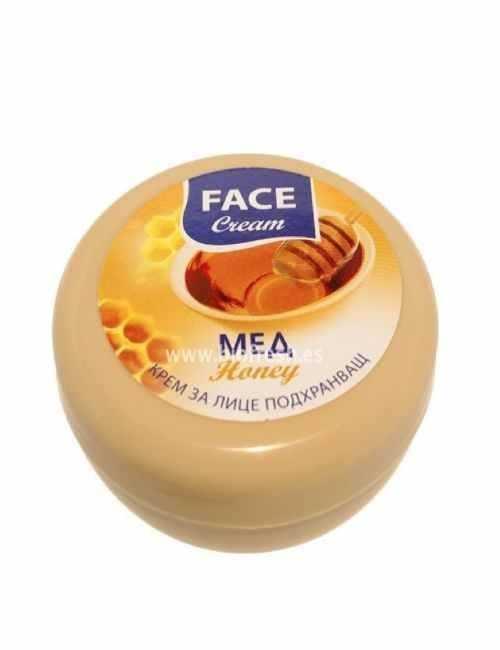 Crema Facial Hidratante con Miel suaviza tu piel