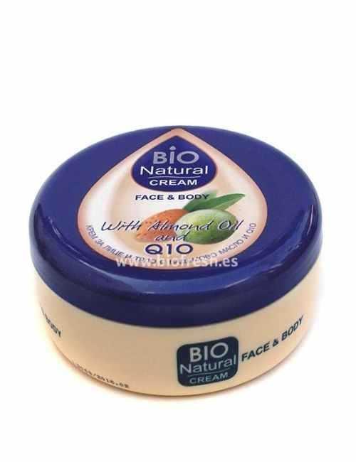 Crema para cara y cuerpo Hidratante con Almendras y Q 10