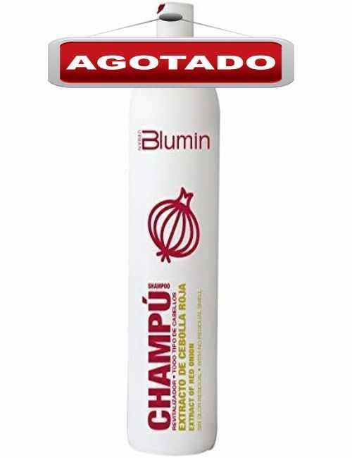 Champu marca Blumin con Cebolla Roja contiene 1 litro