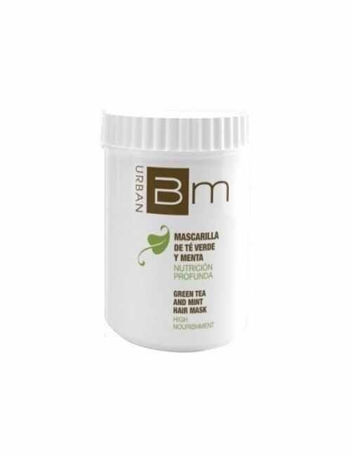 Mascarilla marca Blumin aroma a Te Verde y Menta formato tarro con 700 ml