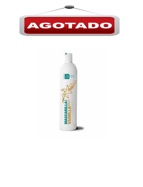 Mascarilla marca Blumin aroma a Vainilla contiene 1 litro
