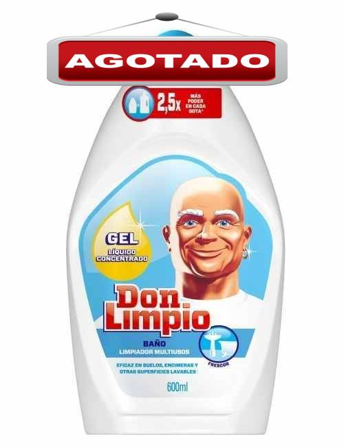 Limpiador para baño marca Don Limpio concentrado