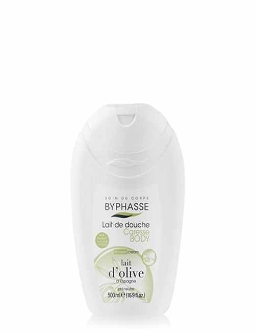 Gel de Ducha con Leche de Oliva higiene y suave con tu piel marca Byphasse