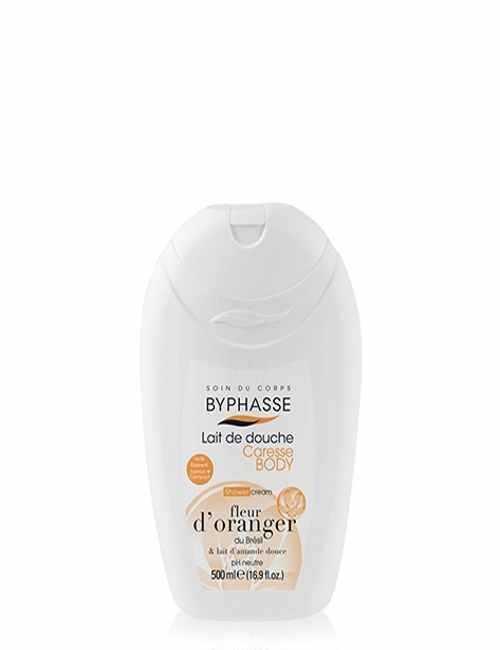 Gel de Ducha con Naranja y Leche de Almendras higiene y suave con tu piel marca Byphasse