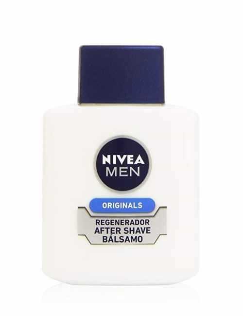 Bálsamo Masaje para después del Afeitado hidrata y calma la piel marca Nivea