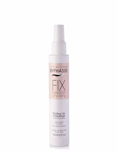 Fijador de Maquillaje en spray para un maquillaje duradero marca Byphasse