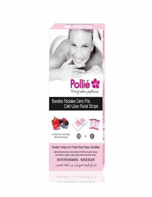 Bandas Depilatorias para el rostro marca Pollie