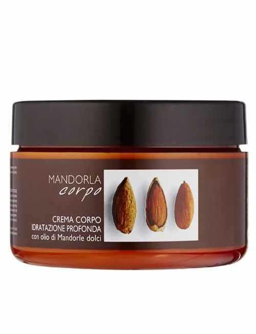 Crema corporal de manteca de Aceite de Almendras