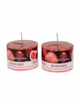 Vela con aroma a Frutos Rojos un agradable aroma para tu hogar