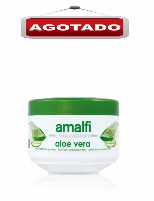 Crema corporal Hidratante con Aloe Vera en formato tarro marca Amalfi