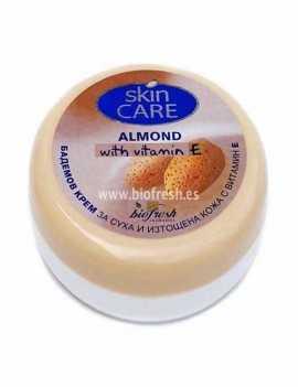 Crema de Cara Hidratante con Almendras y Vitamina E
