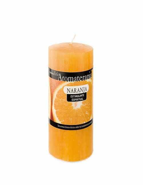 Vela Aromática en formato Taco con aroma a Naranja