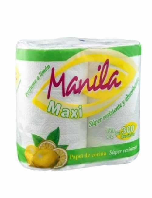 Papel de Cocina Maxi Absorbente con un toque de olor a limón