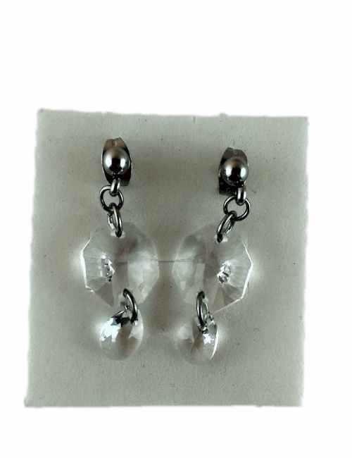Pendiente de colgar con cristal transparente de Swarovski