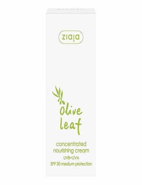 Crema Facial Concentrada con Hoja Olivo hidratante