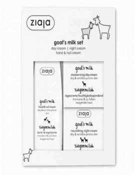 Set de cremas Hidratantes con Leche de Cabra