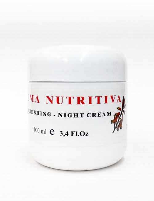 Crema de Cara Nutritiva para la Noche