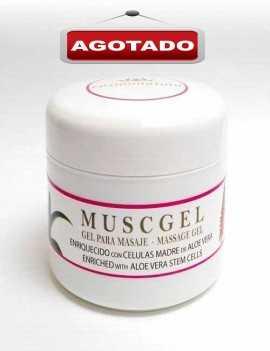 Crema en efecto gel para dolencias musculares