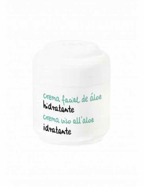 Crema Facial de Aloe Vera Hidratante