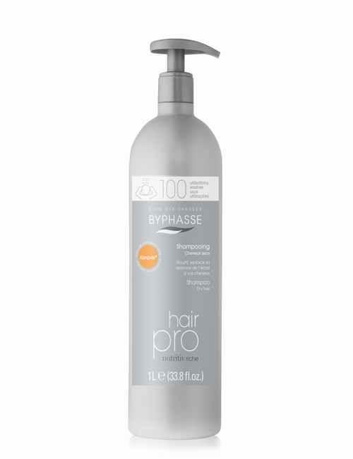 Champu para cabellos Secos gama PRO nutre en profundidad formato de 1 Litro