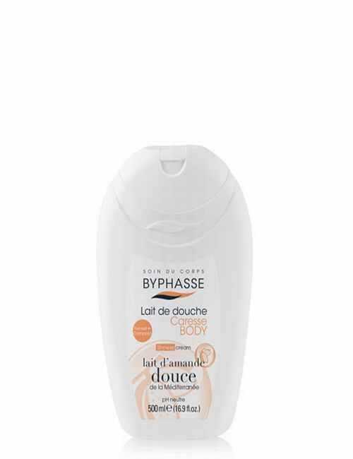 Crema de ducha hidrata tu piel bajo la ducha con leche de almendras dulces