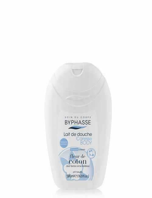 Crema de ducha hidrata tu piel bajo la ducha con Flor de Algodón