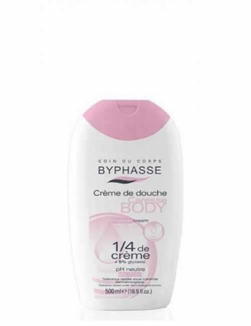 Crema de ducha hidrata tu piel bajo la ducha con 1/4 Crema