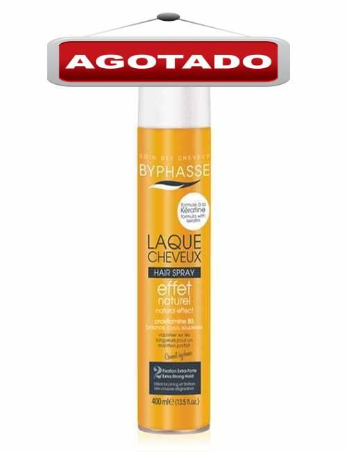 Laca para el cabello con efecto natural fija tus peinados